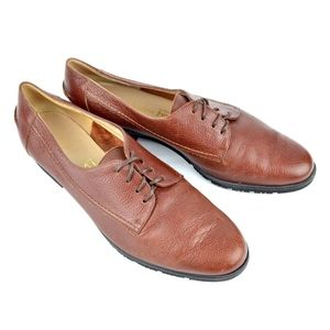 SALVATORE FERRAGAMO Boutique Women Lace Up Sz 6.5B